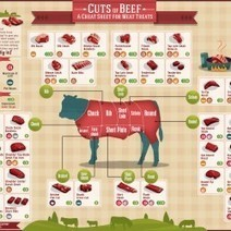 Cuts of Beef | Visual.ly | enjoy yourself | Scoop.it