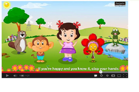 "Education Company : Mind Shaper Technologies: ""Clap Your Hands"" Nursery Rhyme 