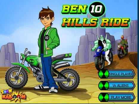 Ben10 Hills Ride | cartoon mini | Scoop.it