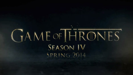 Game of Thrones – Season 4 is coming | That's How Simona Sees It | Scoop.it