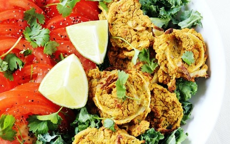 Spicy Chipotle Onion Pucks [Vegan, Gluten-Free, Oil-Free] | My Vegan recipes | Scoop.it