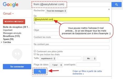 Gmail : Comment bloquer un Site / E-mail de vous envoyer des messages ! | Freewares | Scoop.it