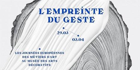 L'empreinte du geste | Les Gentils PariZiens : style & art de vivre | Scoop.it