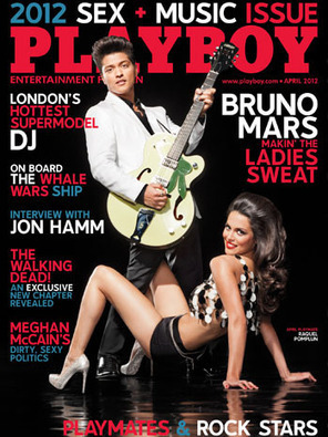 Bruno Mars appears in the April Sex and Music issue of Playboy magazine - Salt Lake Tribune (blog) | Around the Music world | Scoop.it