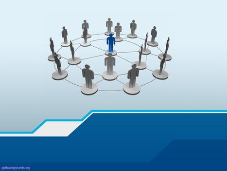 Human Network Communication Wallpaper   PowerPoint Backgrounds   Scoop.it