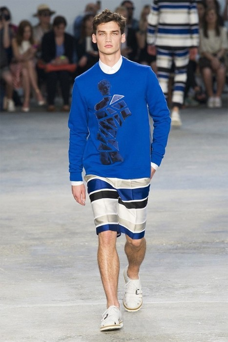 Frankie Morello – Milan Collection Homme Printemps/Été 2015 | Menswear | Scoop.it