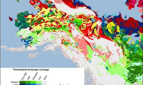 New permafrost map shows regions vulnerable to thaw, carbon release | Climate Change & Water resources | Scoop.it