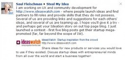 IdeasWatch Puts Eyes on Your Ideas | Social Media Hedlines | Scoop.it