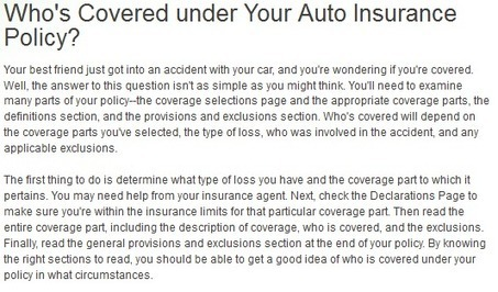 Dissecting Auto Insurance in Brandon, FL: Facts about Coverage Parts | Romero Insurance & Financial Services | Scoop.it