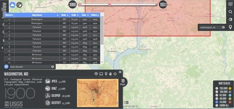 It's Never Been This Easy to Find a Great Topographical Map | visual data | Scoop.it