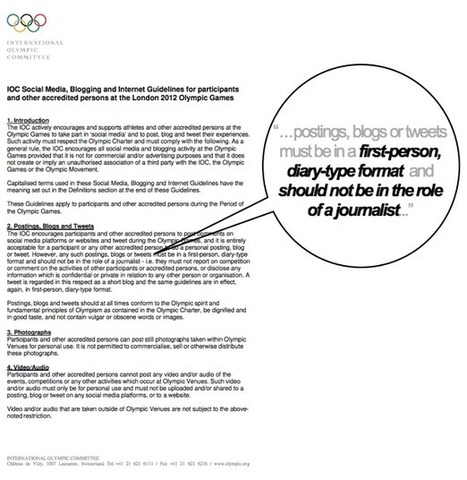 Socialympics: What to Expect from Athletes on Social Media ...   Social Media and Sport   Scoop.it