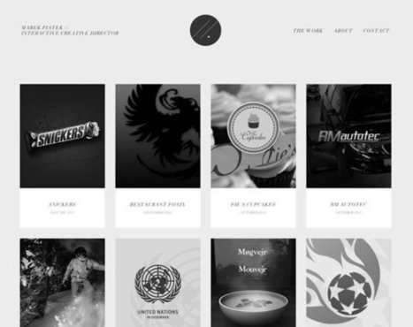 21 Examples of Black, White & Grey in Web Design | Inspiration | Fr3do-Webdesign-Wordpress | Scoop.it