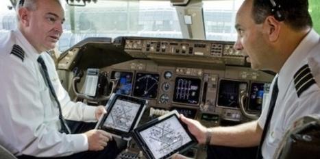 Utilisation des smartphones et tablettes en vol : Bruxelles donne son feu vert ! | Le marketing digital du tourisme | Scoop.it