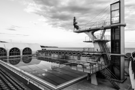 WOMAN PREPARING TO JUMP FROM A DIVING TOWER | PAVEL GOSPODINOV PHOTOGRAPHY | PAVEL GOSPODINOV PHOTOGRAPHY | Scoop.it