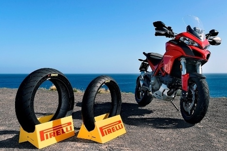 SCORPION ™ Trail II, the latest tyre from Pirelli, opens the path to adventure, equipping the new Ducati Multistrada 1200 | Motorcycle Industry News | Scoop.it