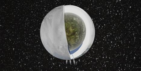 Océano descubierto en Encélado (Saturno), candidato para albergar vida   Zientziak   Scoop.it