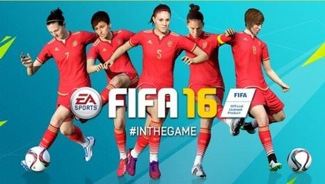 FIFA 16 incluirá a las selecciones femeninas | Valientes y Emprendedores | Scoop.it