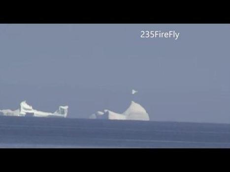 Canadá: Extraño OVNI fue avistado sobre un iceberg (VIDEO) - Perú.com   Expediente ovni.   Scoop.it