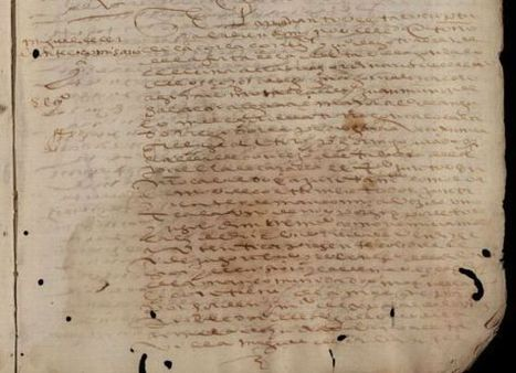Hallados en Sevilla cuatro textos inéditos sobre Cervantes | ARCHIVOS Y ARCHIVEROS | Scoop.it