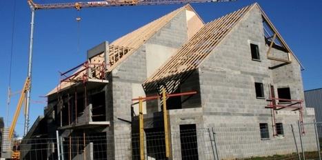 Mauvais début d'année pour la construction de logements neufs | Le bon investissement immobilier | Scoop.it