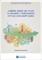 European Report on Development 2015: combining finance and policies to implement a transformative post-2015 development agenda | International aid trends from a Belgian perspective | Scoop.it