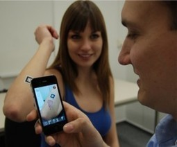 Using an iPhone and augmented reality to teach medical students | AR | Scoop.it