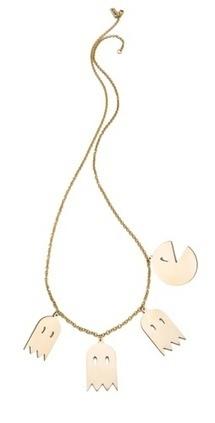 Monserat De Lucca Pac Man Necklace | SHOPBOP | Mode et fashion | Scoop.it