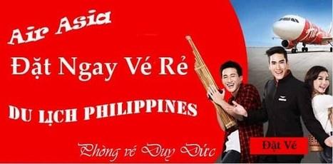 Vé máy bay Air Asia đi Philippines | Ve may bay, Đặt mua vé máy bay tại đại lý vé máy bay Duy Đức cam kết giá rẻ nhất | Scoop.it