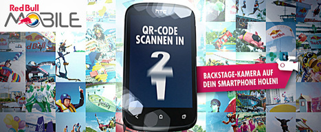 QRMovie: QR Codes in Bewegtbild, z. B. in einer Kampagne für RedBull #liquidnews | #liquidnews: online marketing | Scoop.it