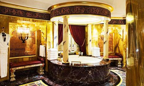 15 salles de bains majestueuses provenant des quatre coins du monde | Les Compagnons Parisiens | Scoop.it