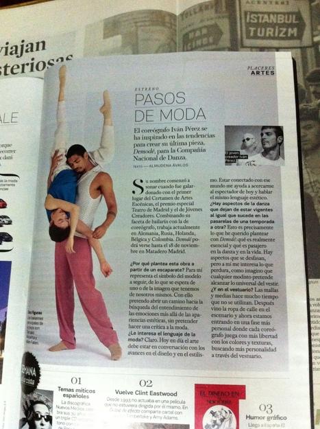 Entrevista: Iván Pérez en el Smoda | Festival Internacional Madrid en Danza 2012 | Scoop.it