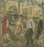 Leon Kossoff exhibition reflecting creative paintings and drawing | Offer Waterman & Co | Scoop.it