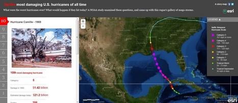 EUE Angola 2012 – Story Maps – Top 10 Furacões nos EUA | geoinformação | Scoop.it
