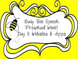 Busy Bee Speech: Preschool Week Day 1: Websites & Apps   Fluency and Comprehension Resources using and ipad in 2nd grade   Scoop.it