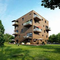 IBA: WOODCUBE – ein Wohnwürfel als modernstes Holzhochhaus der Welt - Wirtschaft - Nordic Market | öko | Scoop.it