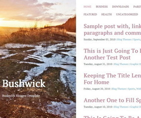 Bushwick Blogger Template | Blogger themes | Scoop.it