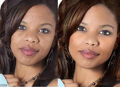 Before and after using Portrait Professional photo editing software | Portrait Professional | Scoop.it