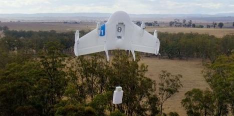 Google a testé un service de livraisons par drones en Australie   Geek-$$   Scoop.it