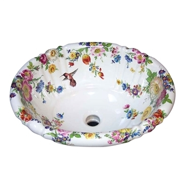 http://www.decoratedbathroom.com/ | Hand Painted Bathroom Fixtures, Sinks, Toilets, Tiles and Accessories - Decorated Bathroom | Scoop.it