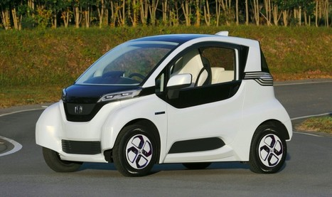 Honda Micro Commuter prototype previews future city-sized EV | Digital Sustainability | Scoop.it