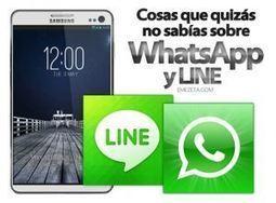 WhatsApp y LINE: Cosas que quizás no sabías | Emezeta | Social Media 3.0 | Scoop.it