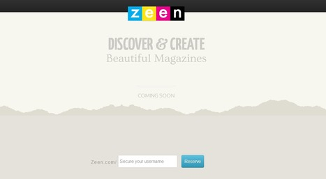YouTube co-founders silently introduce magazine publishing app, Zeen | Cloud Central | Scoop.it