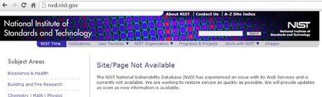 NIST Vuln Database hacked! | Vulnerabilities | Scoop.it