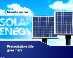 Free Solar Energy PowerPoint Template | Free Powerpoint Templates | Global Energy Market | Scoop.it