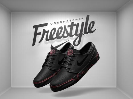 Nike Zoom Stefan Janoski Doernbecher | #Design | Scoop.it