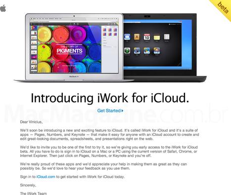 ↪ Apple expande testes da versão beta do iWork para iCloud e alguns usuários comuns já estão com acesso aos web apps | Apple Mac OS News | Scoop.it