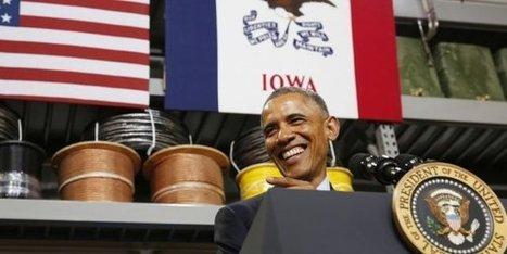Pour Obama, l'Amérique n'est pas l'eldorado du très haut débit, Paris si ! | FTTH | Scoop.it