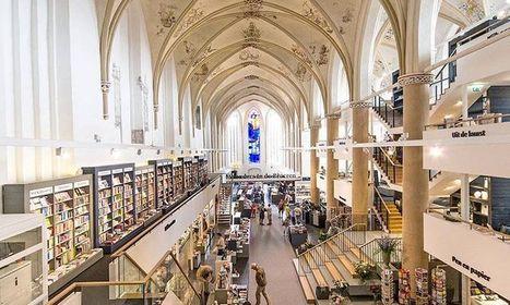 Une cathédrale gothique du XVème siècle se transforme en une époustouflante librairie | ART's news | Scoop.it