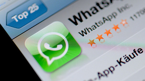"""Facebook to Buy Messaging App """"WhatsApp for $19 Billion"""" 