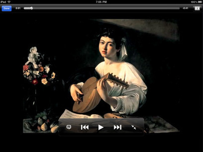 IL Y A 6 ANS...Caravaggiomania sur iPhone et iPad | Clic France | Scoop.it